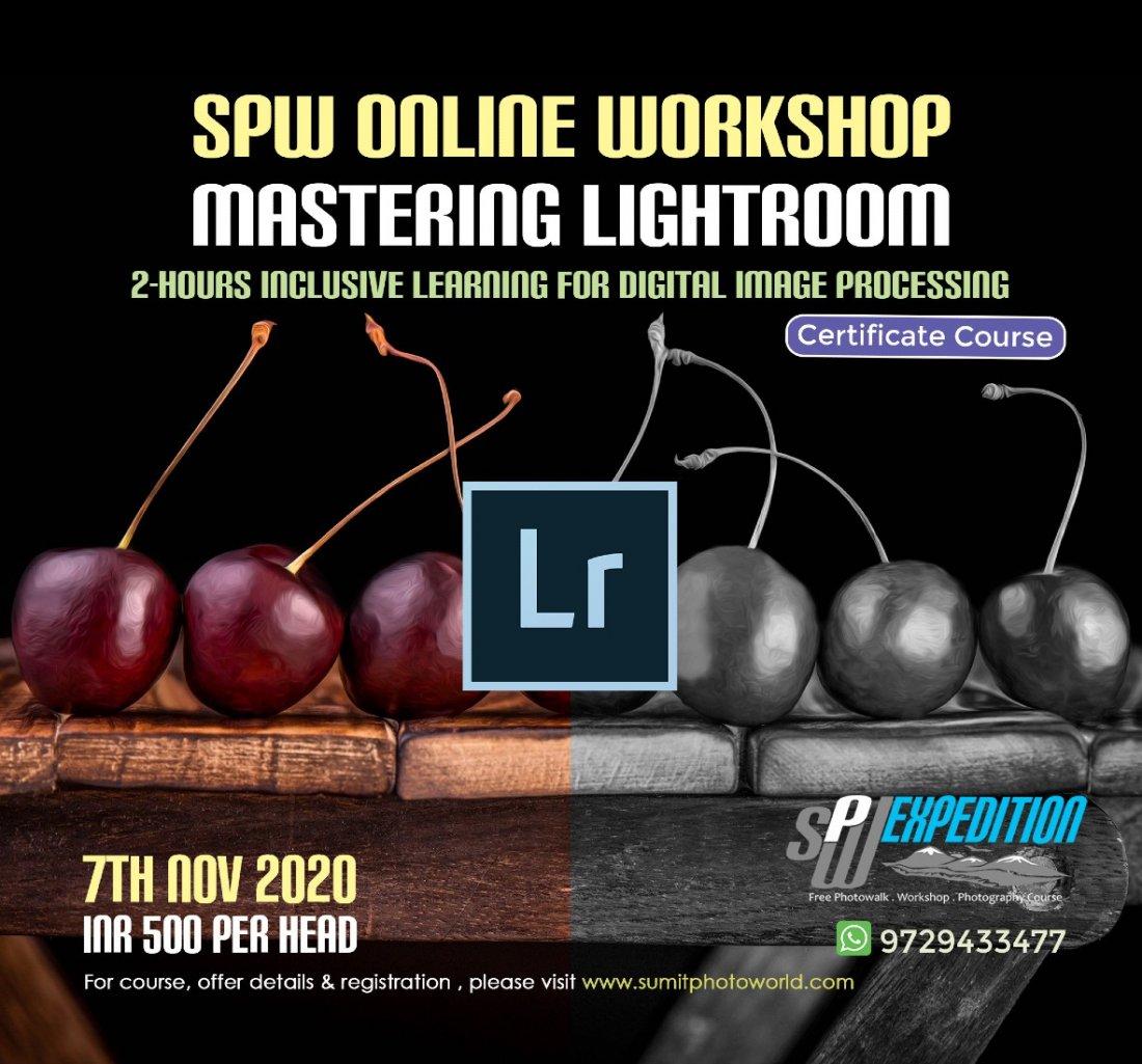 Mastering Lightroom M-2, 7 November | Online Event | AllEvents.in