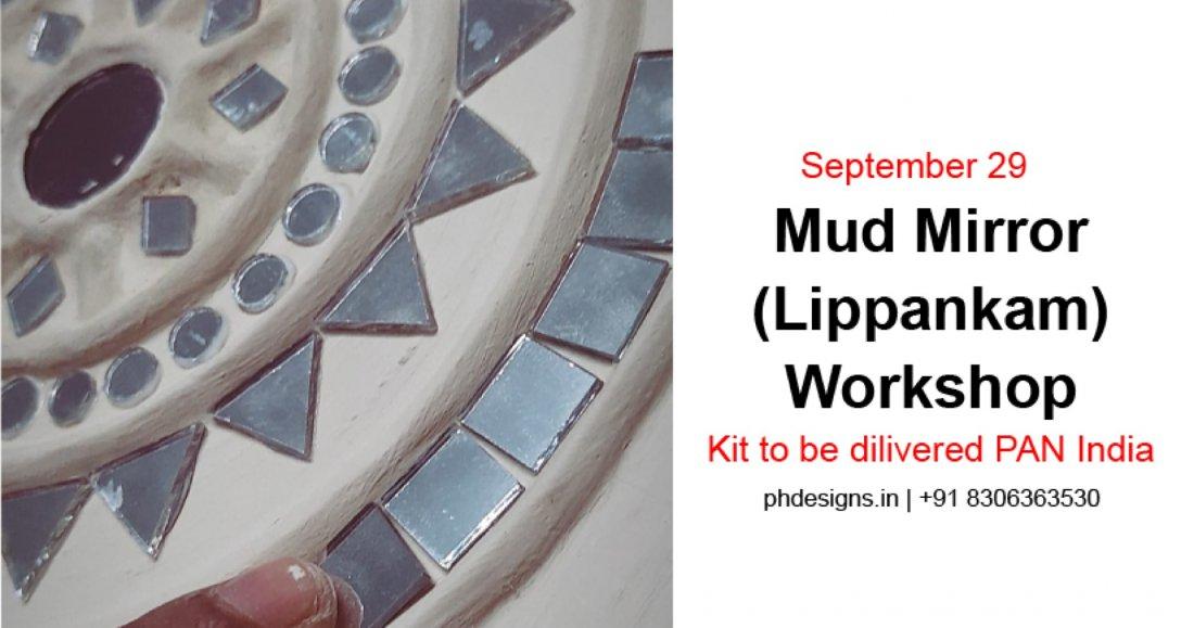Mud Mirror (Lippankam) Workshop by Kutchi Artist