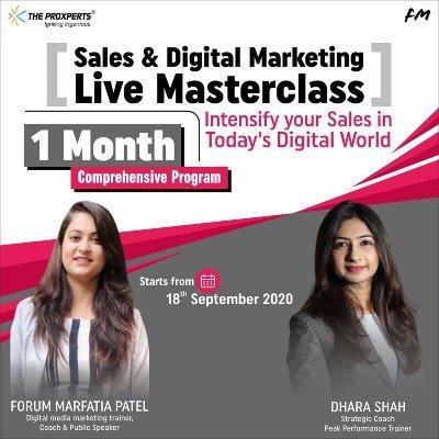 1 Month Comprehensive Program on Sales & Marketing
