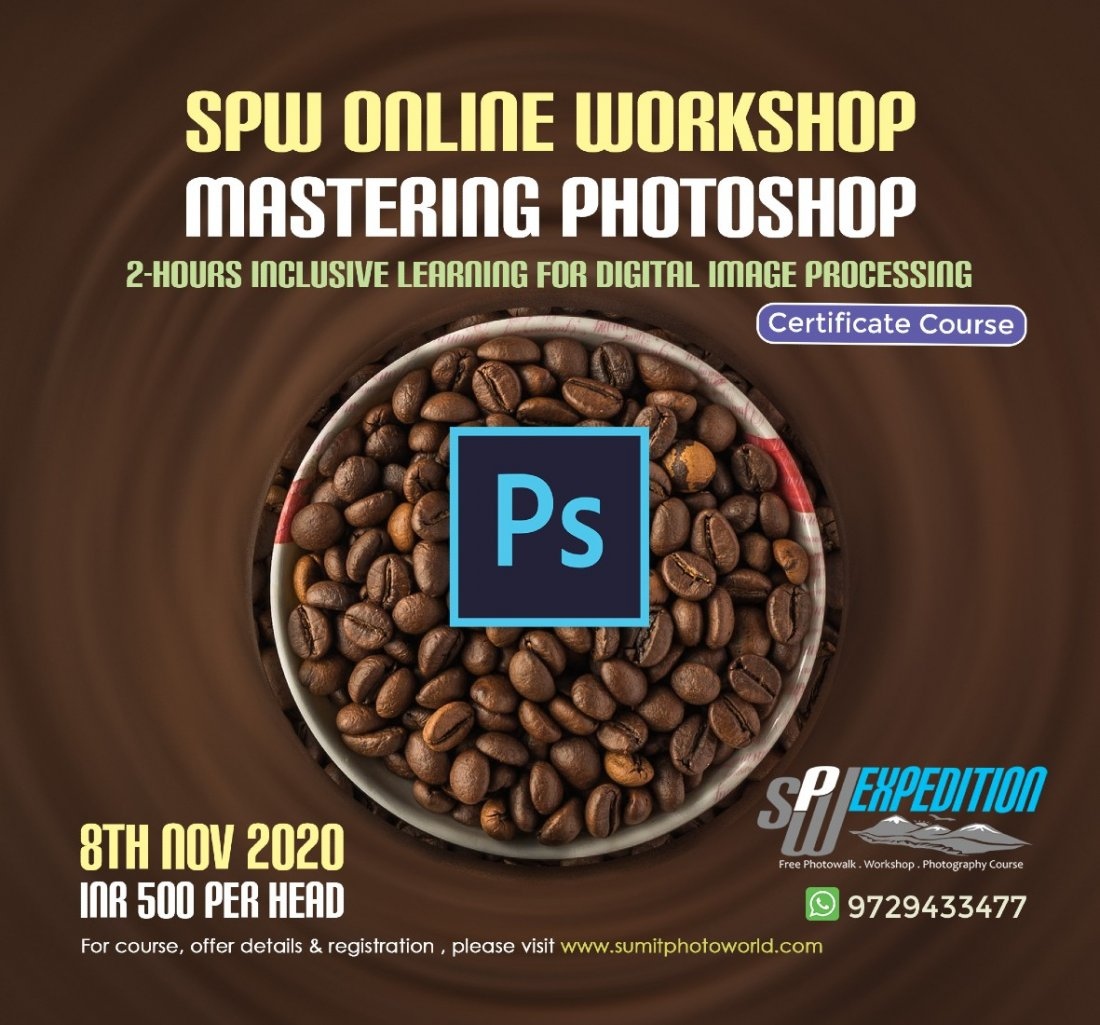 Mastering Photoshop M-2, 8 November | Online Event | AllEvents.in