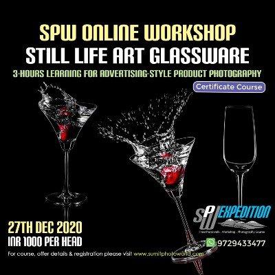 Still Life Art - Glassware Photography