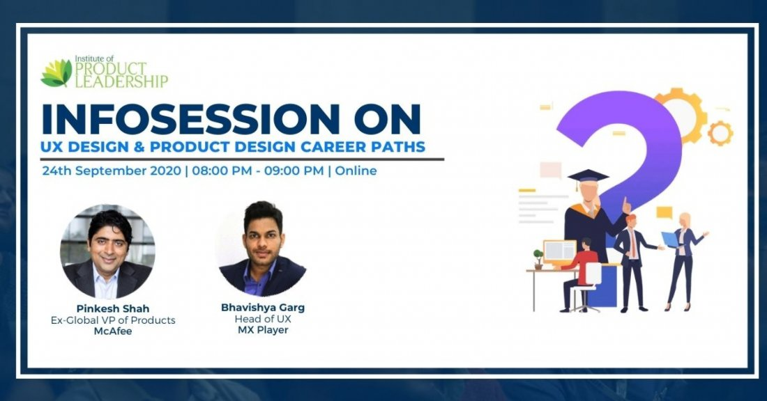 Infosession on UX Design & Product Design Career Paths