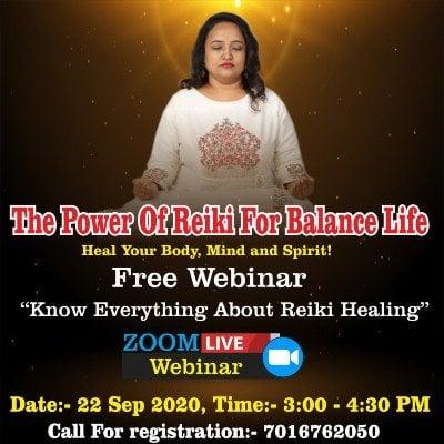 Dr.Yoginis Reiki Healing Free Masterclass