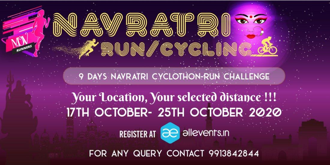 9 DAYS NAVRATRI CHALLENGE | Online Event | AllEvents.in