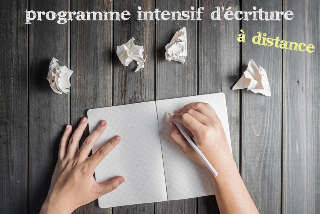 Programme intensif d'écriture (à distance) | Online Event | AllEvents.in
