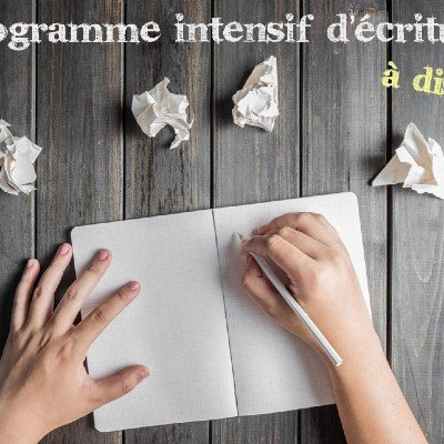 Programme intensif dcriture ( distance)