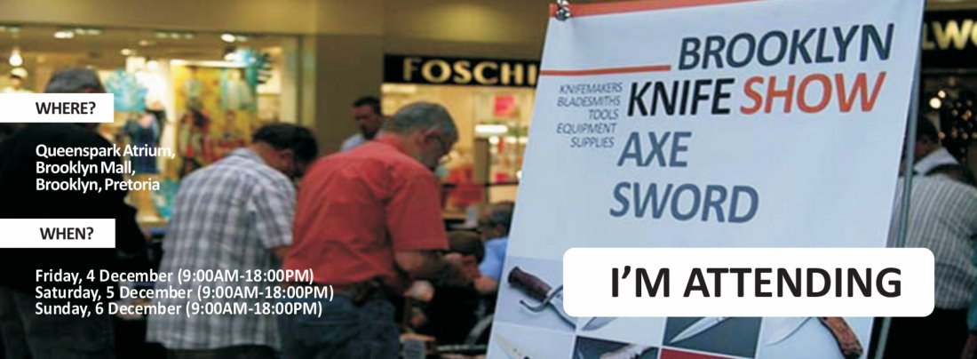 Brooklyn Knife Show 2020 (#BKS2020) - 4 to 6 Dec 2020, 4 December | Event in Pretoria | AllEvents.in