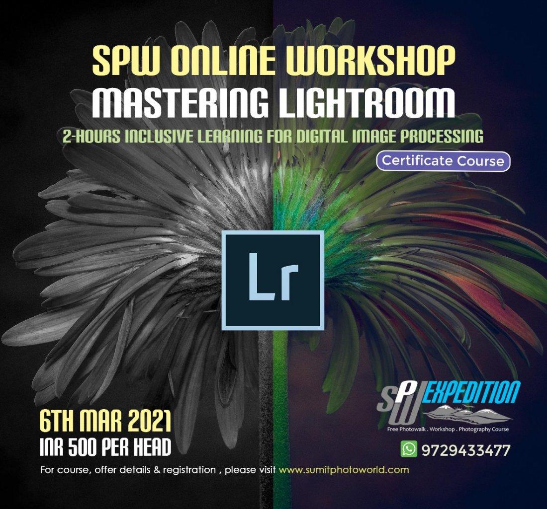 Mastering Lightroom Module-1 | Online Event | AllEvents.in