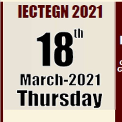 IECTEGN 2021 International E-Conference on Teacher Education Generation Next