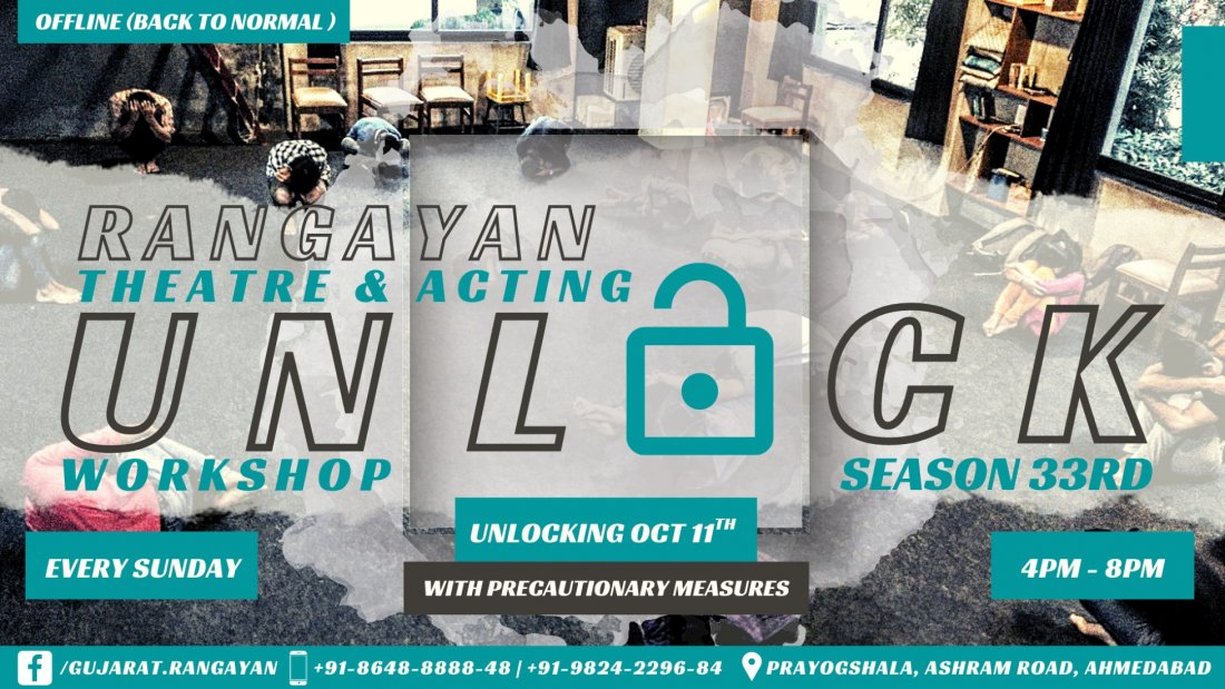 Rangayan - Theatre & Acting Workshop (OFFLINE Season 33) | Event in Ahmedabad | AllEvents.in