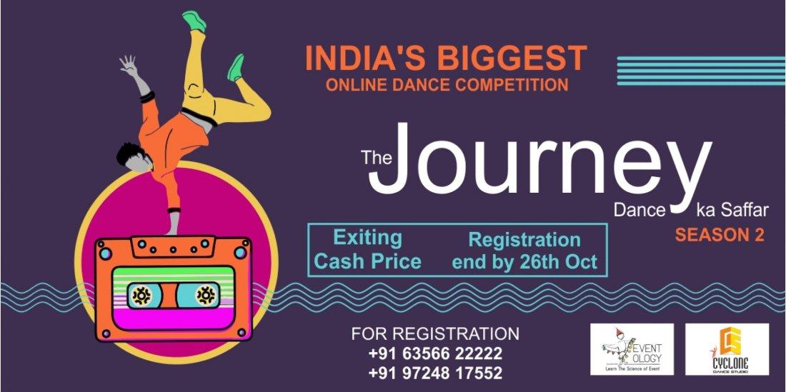 The Journey - Dance Ka Saffar, 26 October | Online Event | AllEvents.in