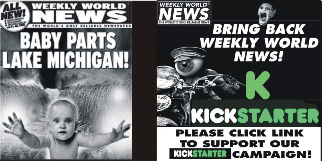Weekly World News - Tabloid Relaunch Celebration | Event in Lewisburg | AllEvents.in