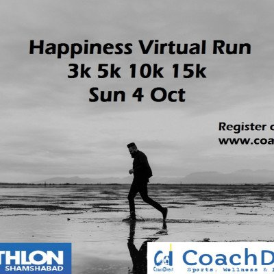 Happiness FREE virtual run
