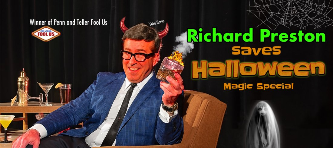 Richard Preston's Halloween Zoom Magic Special Oct 30 EASTERN TIME ZONE, 30 October | Online Event | AllEvents.in