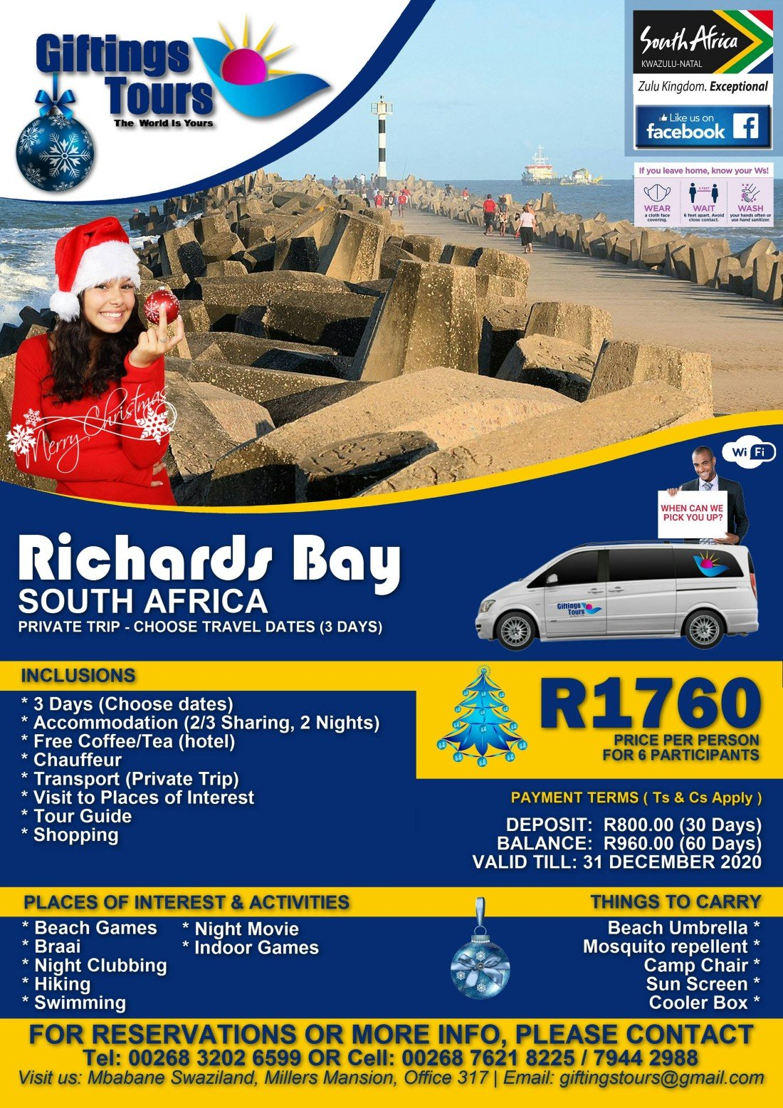 Richards Bay Pack 1, 31 December | Event in Richards Bay | AllEvents.in