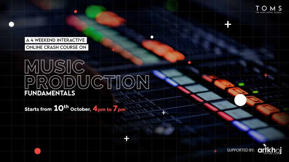 Music Production Fundamentals -  4 weekend online course | Online Event | AllEvents.in