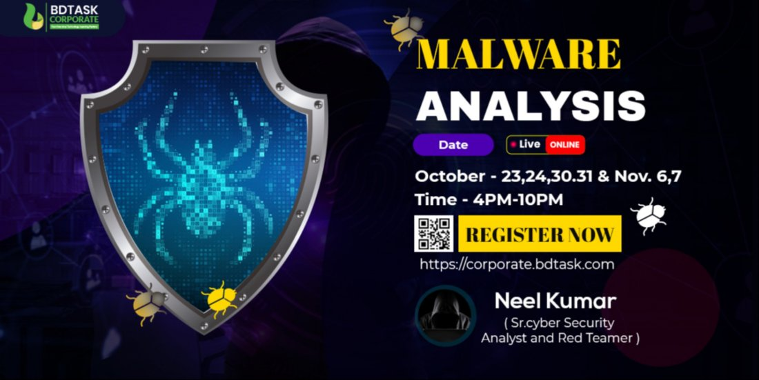 Malware Analysis Advance course    Online Event   AllEvents.in