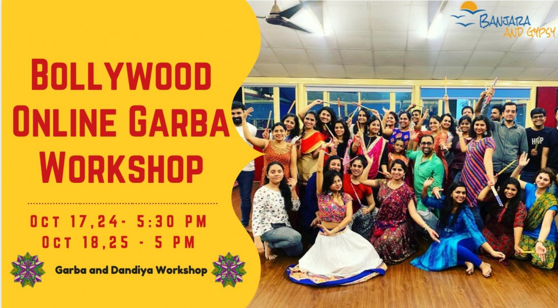 Garba and Dandiya Online Workshop, 24 October   Online Event   AllEvents.in
