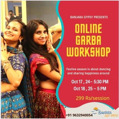 Garba and Dandiya Online Workshop