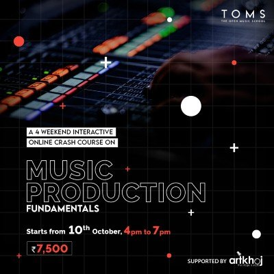 Music Production Fundamentals -  4 weekend online course