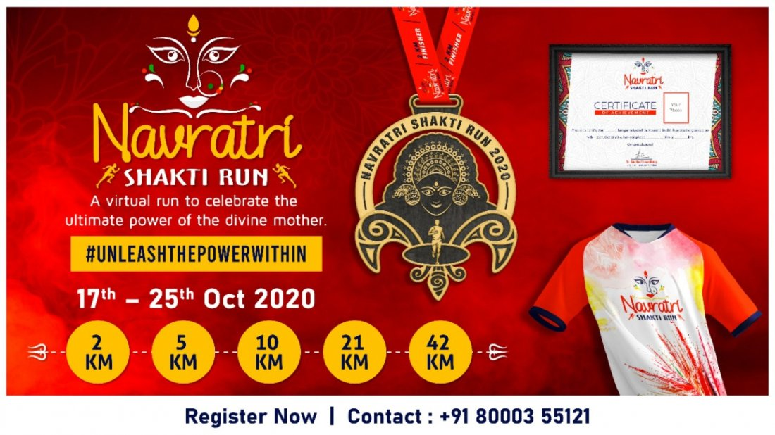 Navratri Shakti Run 2020 | Online Event | AllEvents.in