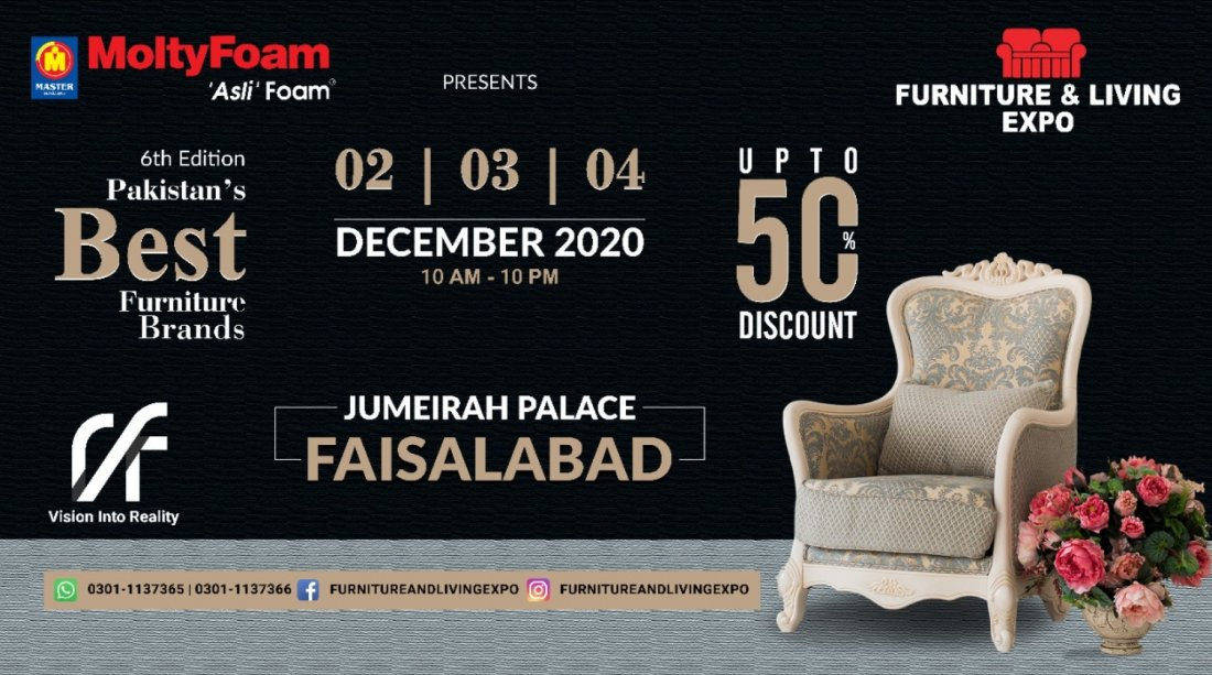 Furniture and living Expo , 2 December | Event in Faisalabad | AllEvents.in