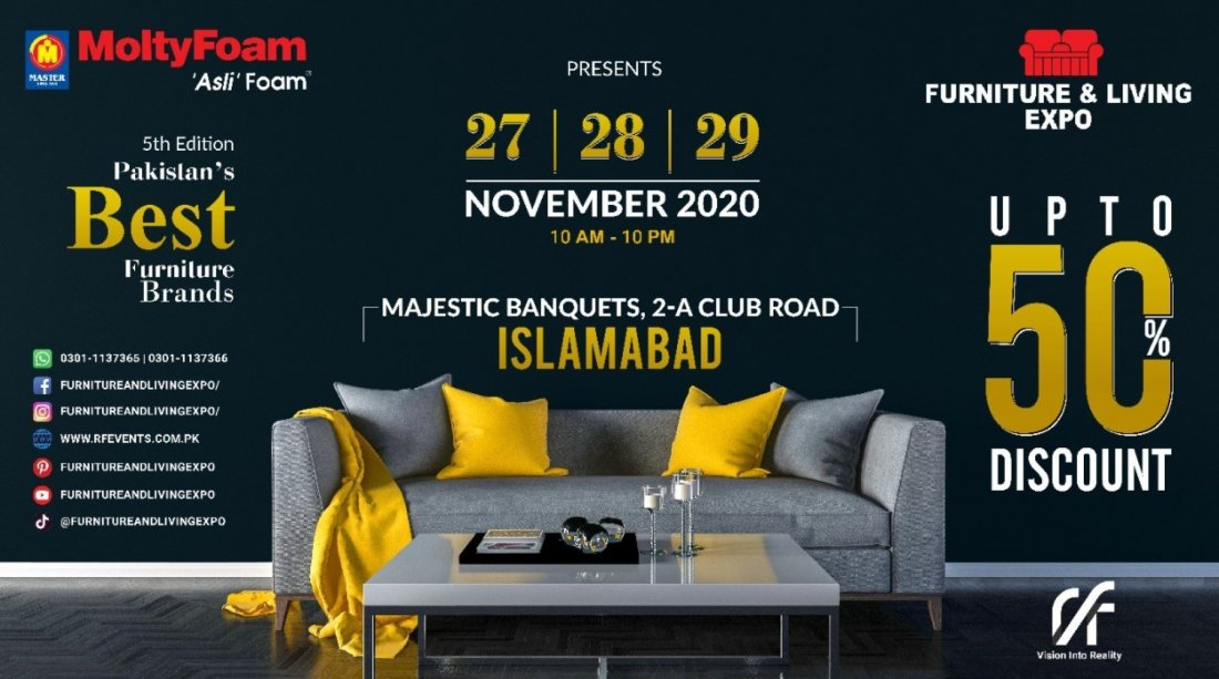 Furniture and Living Expo , 27 November | Event in Islamabad | AllEvents.in