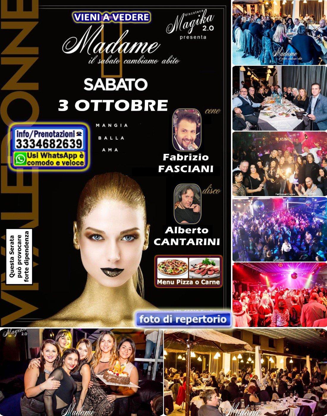 Sabato Magika la Discoteca di Pescara Serata con CENA Musica LIVE DISCO anni 90 Locale grande | Event in Pescara