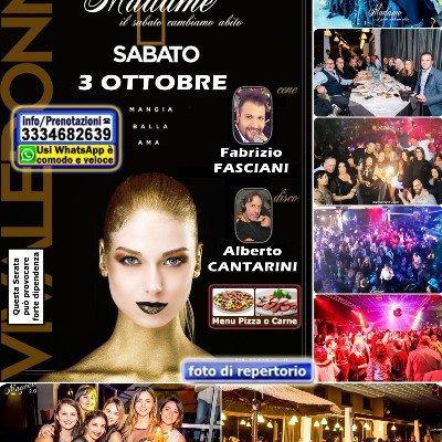 Sabato Magika la Discoteca di Pescara Serata con CENA Musica LIVE DISCO anni 90 Locale grande