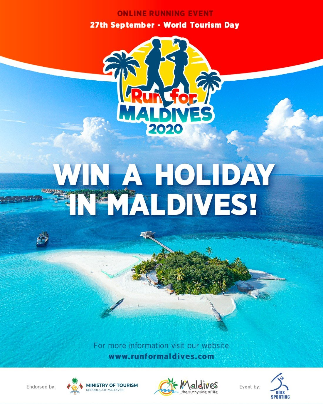 RUN FOR MALDIVES | Online Event | AllEvents.in