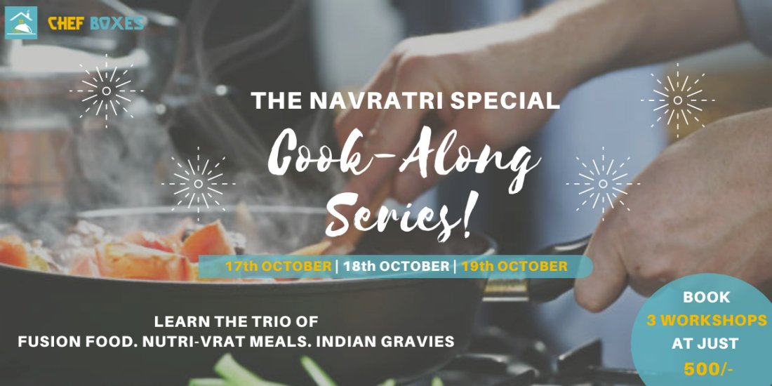 NAVRATRI SPECIAL COOKING WORKSHOP | Online Event | AllEvents.in