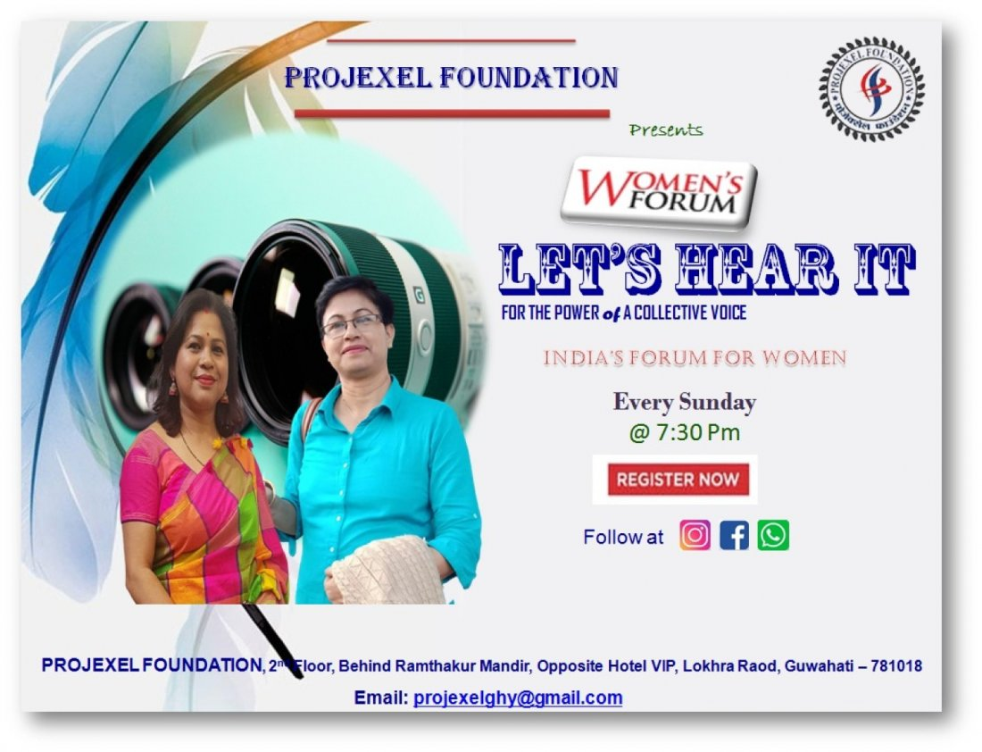 "Women Forum ""Let's Hear It"", 29 November | Online Event | AllEvents.in"