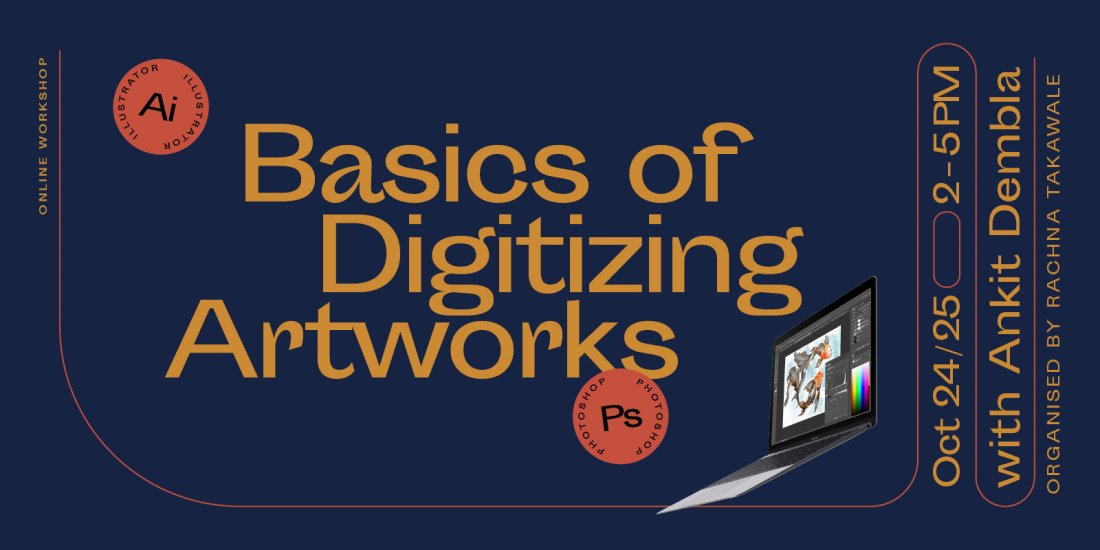 The Basics of Digitizing Artworks using Photoshop and Illustrator Workshop | Online Event | AllEvents.in
