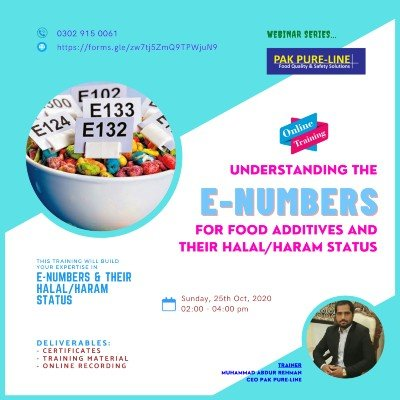 Understanding the E-Numbers for Food Additives and their HalalHaram Status
