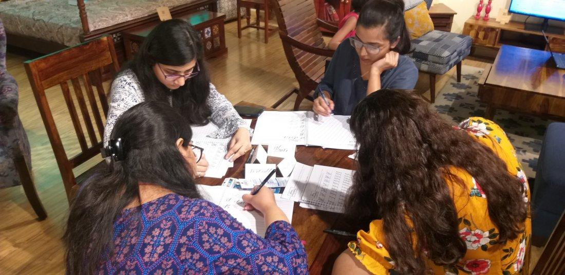 Brush Calligraphy (Beginner's Classes | Online Event | AllEvents.in