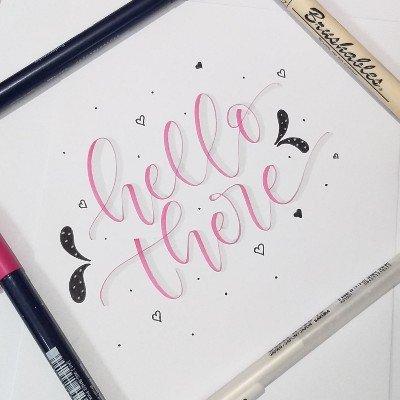 Brush Calligraphy (Beginners Classes