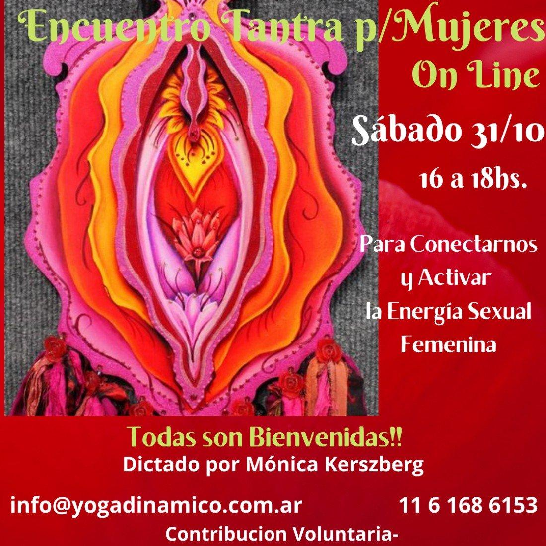 Encuentro Tantra para Mujeres On Line Contribución Voluntaria, 31 October | Online Event | AllEvents.in