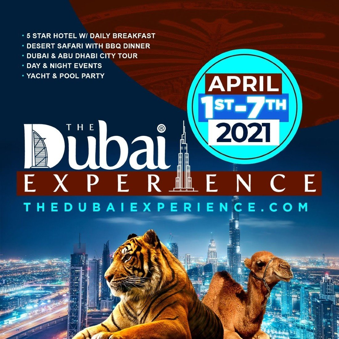 THE DUBAI EXPERIENCE APRIL 1 - 7, 2021, 1 April | Event in Dubai | AllEvents.in