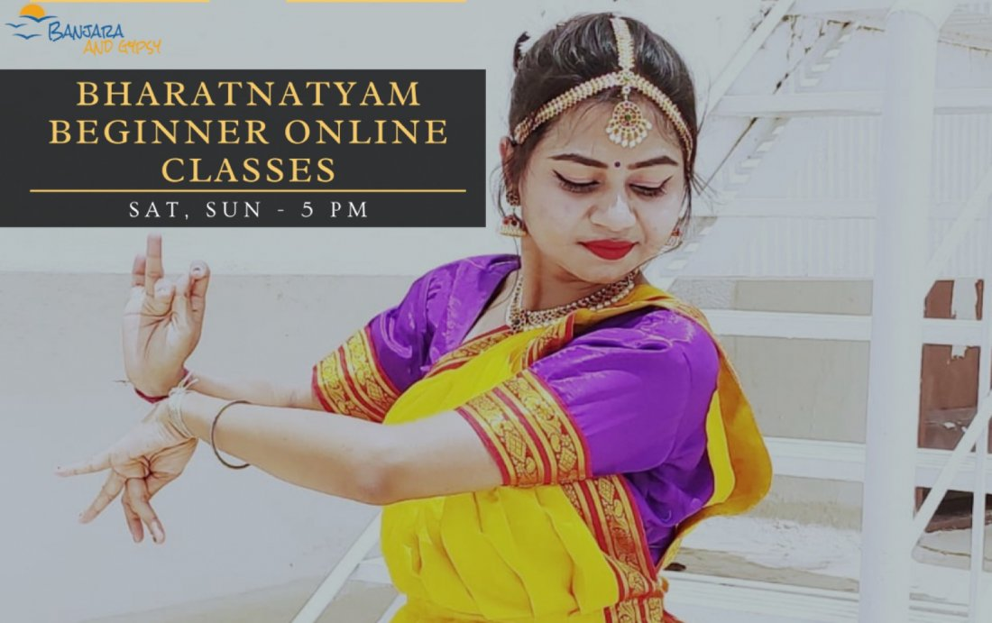 Bharatnatyam Beginner Online Class, 5 December | Online Event | AllEvents.in