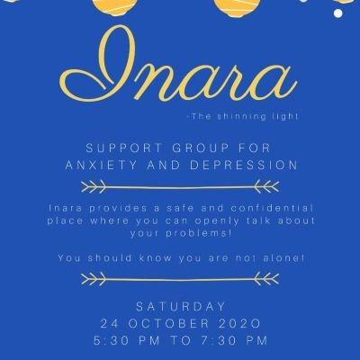 INARA- Support Group for Anxiety and Depression