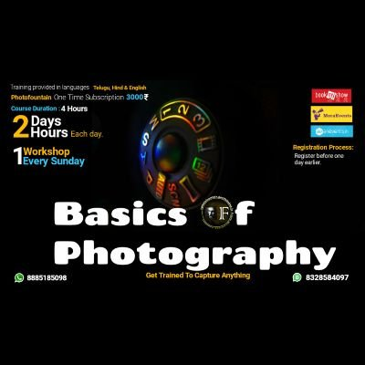 Basics Of Photography - Online Training Course