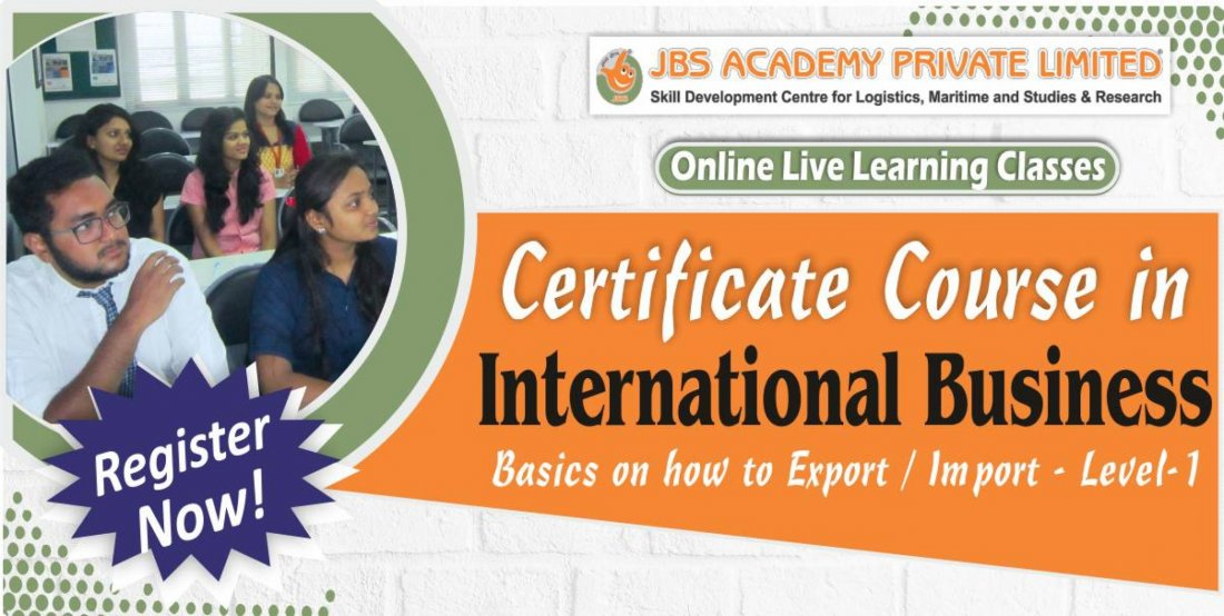 Certificate Course In International Business | Online Event | AllEvents.in