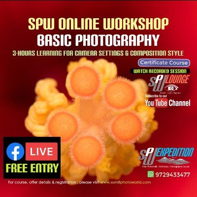SPW Online Basic Photography Workshop