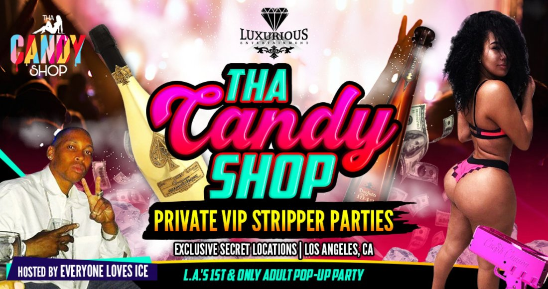 Tha Candy Shop stripper party, 5 December | Event in Los Angeles | AllEvents.in