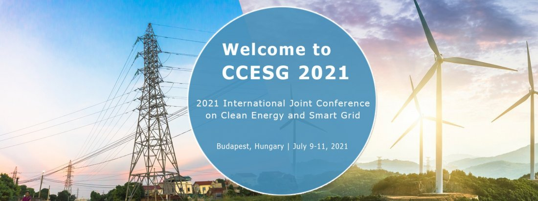 2021 4th  International Joint Conference on Clean Energy and Smart Grid (CCESG 2021), 9 July | Event in Budapest