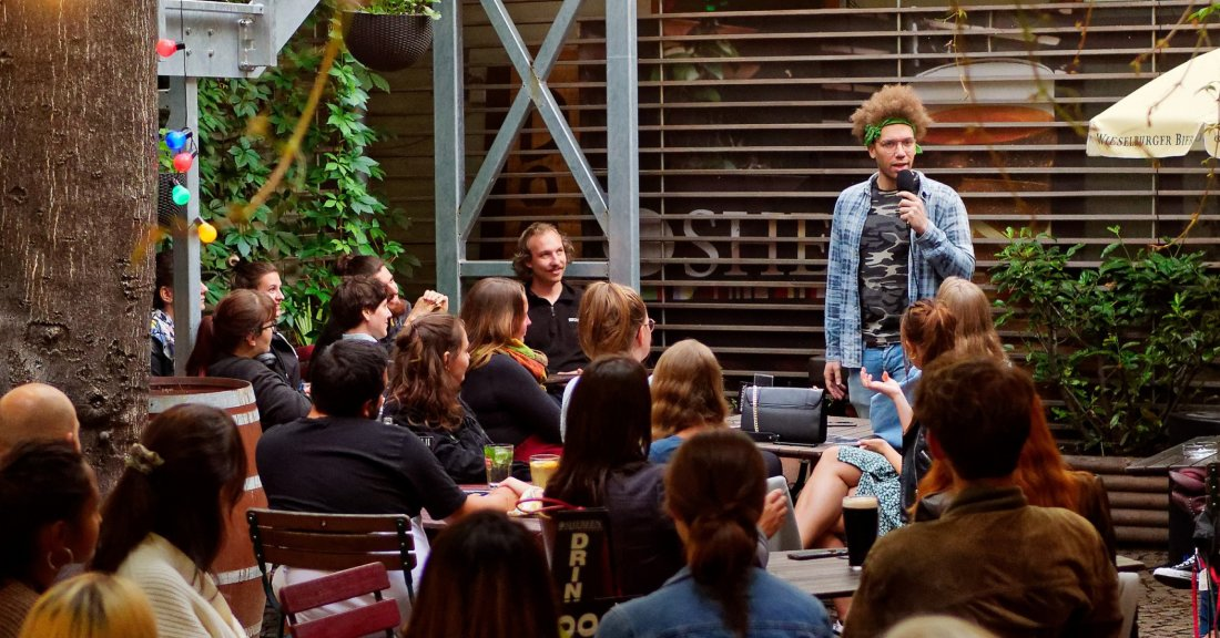 English Stand-up Comedy at Kramladen!, 24 November | Event in Vienna | AllEvents.in