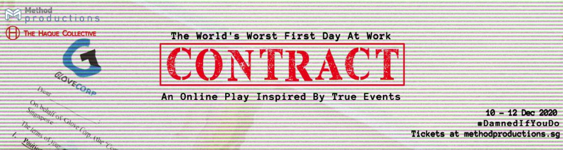 CONTRACT [ AN ONLINE PLAY - LIVE ], 10 December | Online Event | AllEvents.in