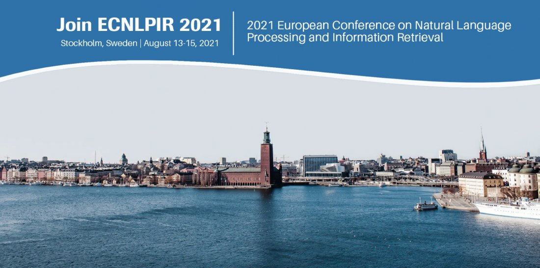 2021 European Conference on Natural Language Processing and Information Retrieval (ECNLPIR 2021), 13 August