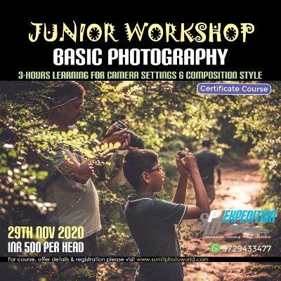 Junior Photographer Workshop