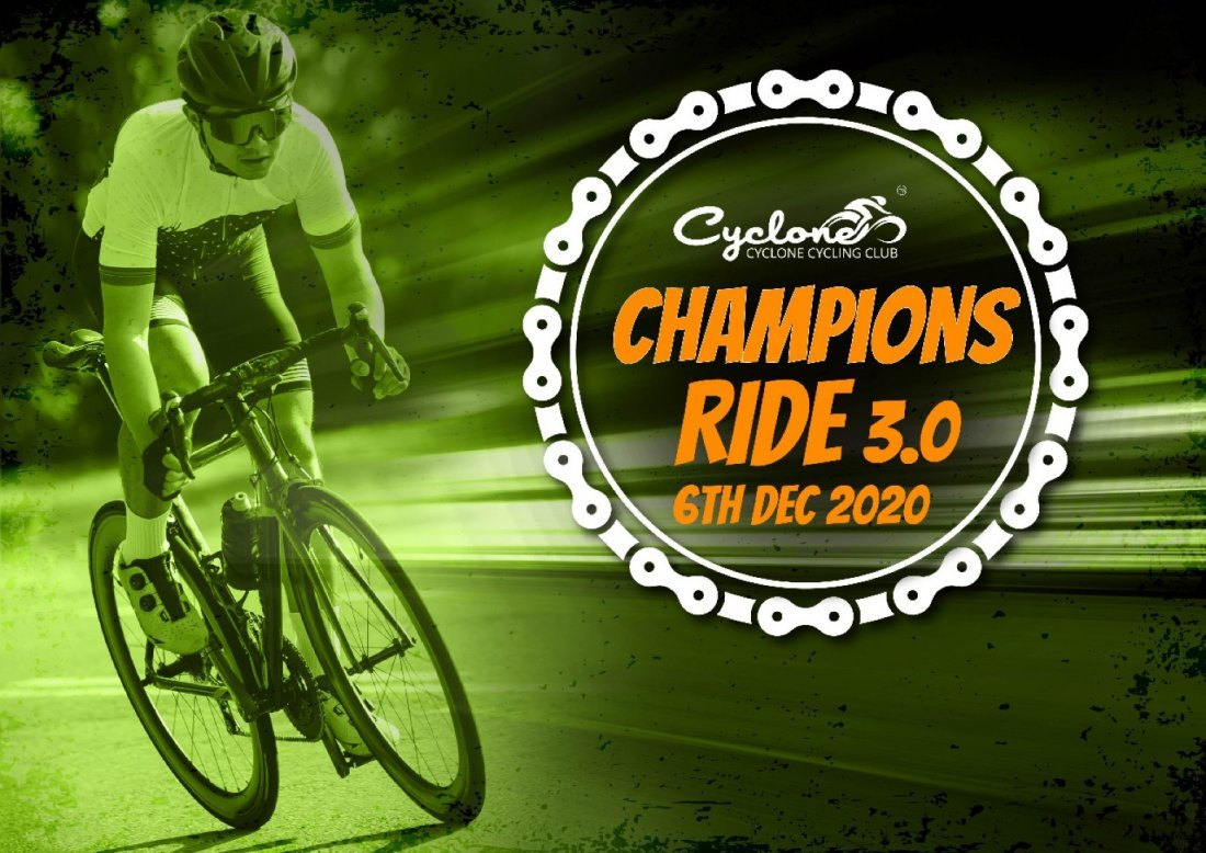 Champions Ride 3.0, 6 December | Event in Ahmedabad | AllEvents.in